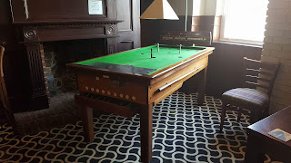 Bar Billiards table at The Goose in Beaumont
