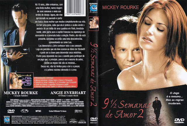 Capa DVD 9 1/2 Semanas de Amor 2