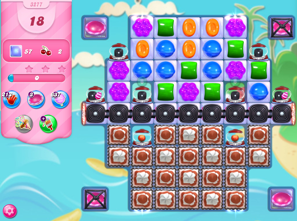 Candy Crush Saga level 3277