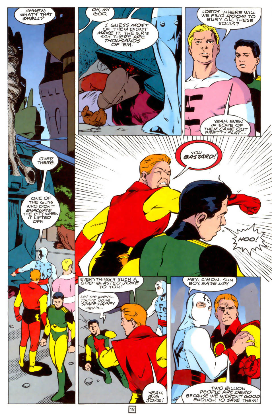 Legion of Super-Heroes (1989) 39 Page 12