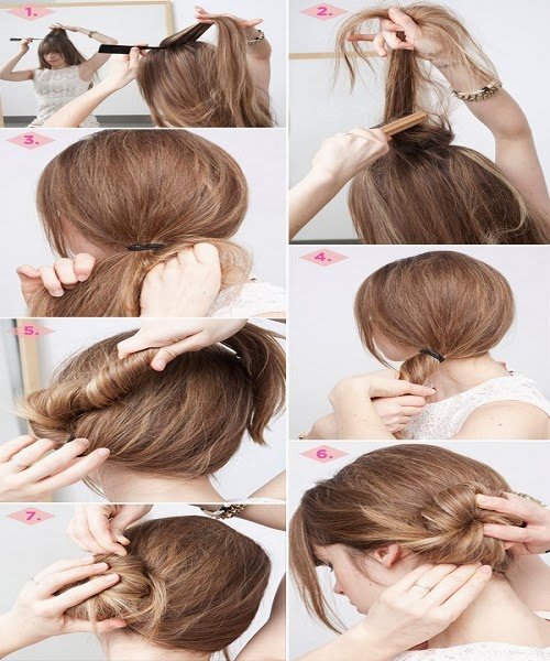 Prime New Best Quick And Simple Hair Style Pics Tutorial Part 2 Pak Short Hairstyles Gunalazisus