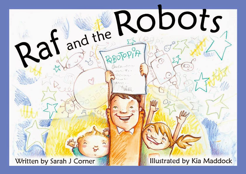 Raf and the Robots children's book for poly families