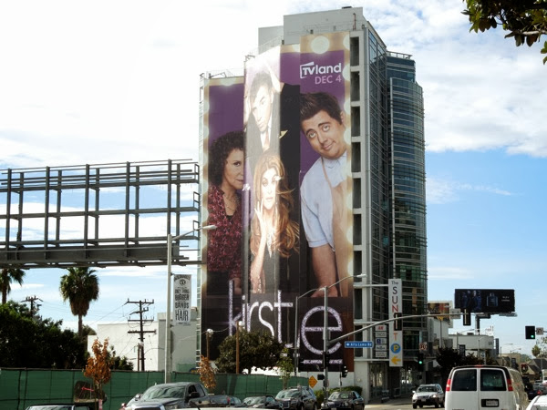 Giant Kirstie TV Land sitcom billboard