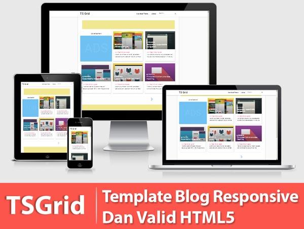 Free Ts Grid HTML5 Template Blogspot