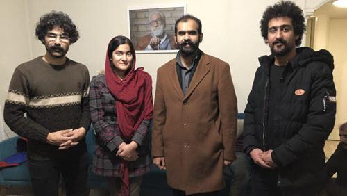 آزادی چهار تن از دراویش زندانی پس از تجمع ودرگیری در مقابل اوین