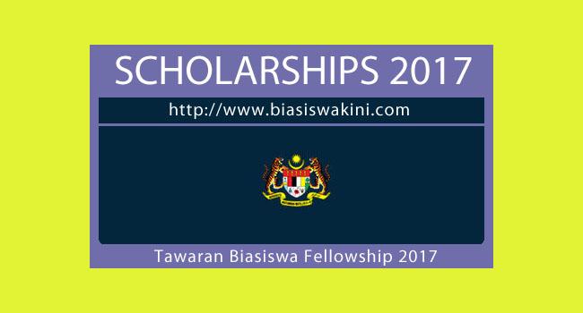 Kementerian Pendidikan Tinggi-Biasiswa Fellowships Sains 2017