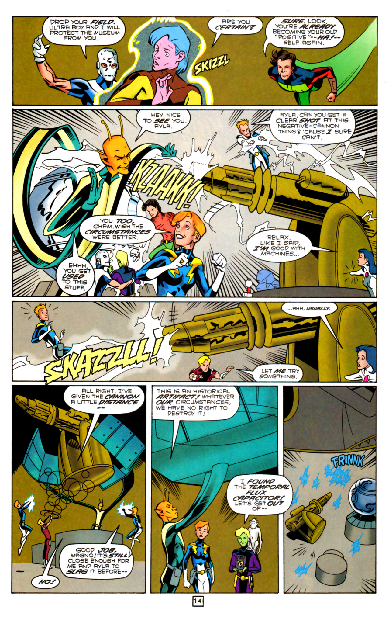 Legion of Super-Heroes (1989) 91 Page 13