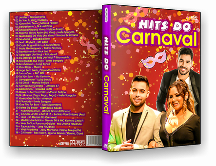 CAPA DVD – Hits Do Carnaval – DVD-R
