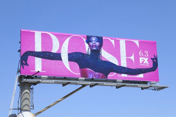 Pose series launch billboard
