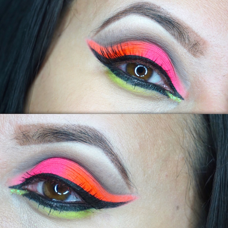 MOTD-Neon-Series-Pink-Orange-Yellow-PinkOrchidMakeup-Vivi-Brizuela