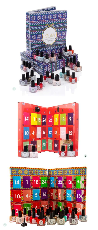ciat mini mani nail polish advent calendars 2014 polka. Black Bedroom Furniture Sets. Home Design Ideas