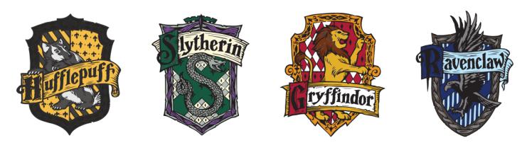Las Casas De Hogwarts