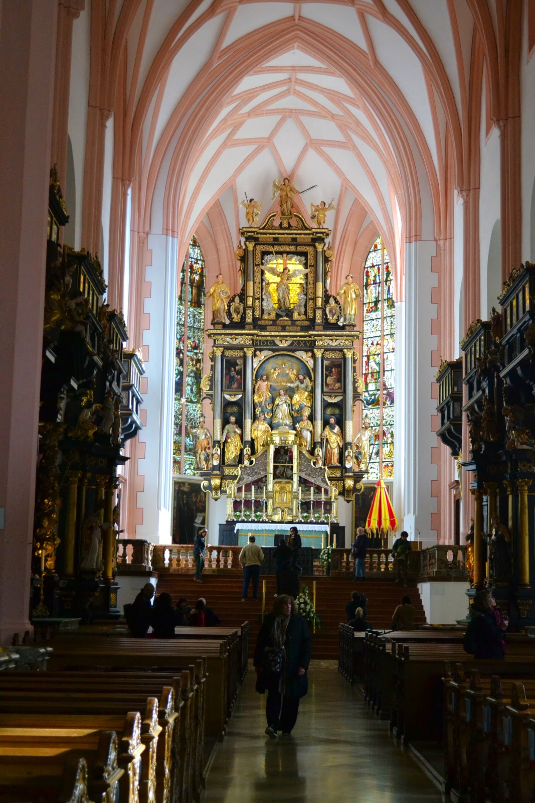 Saint Michael Church in Mondsee, Austria.