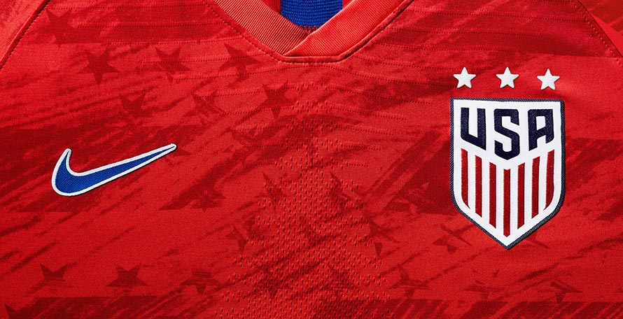 5c231a250d8 USA Away Shirt 2019-20 - Women s Buy now. Free worldwide delivery on all  orders