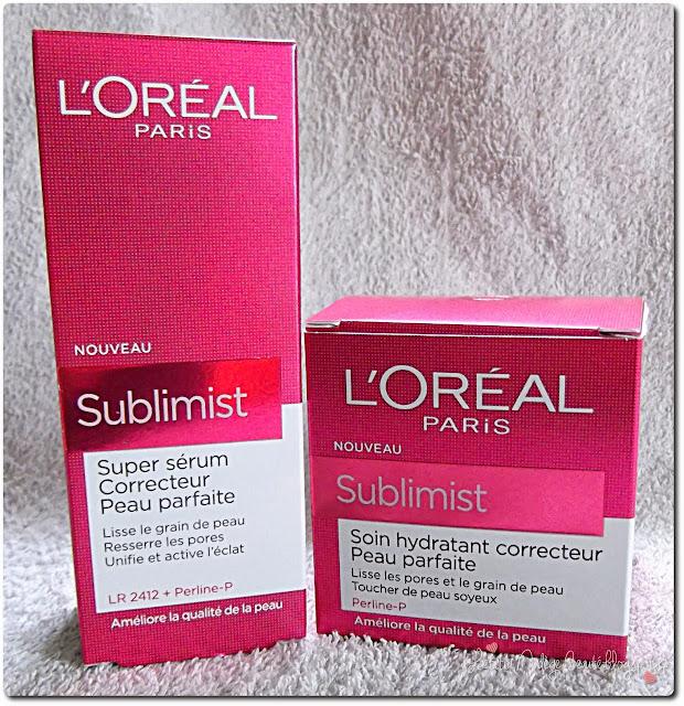 L'Oréal  Sublimist Soin Hydratant Correcteur Peau Parfaite