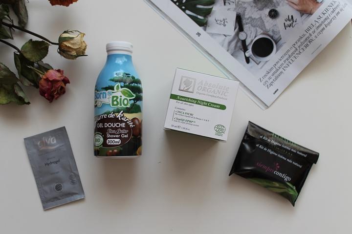Kosmetyki ze sklepu Bio-beauty, organiczny żel pod prysznic Born to Bio i odżywczy krem z minerałami Morza Martwego