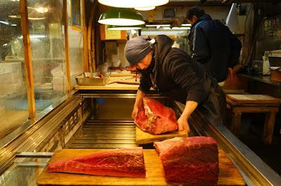Le Chameau Bleu - Voyage au Japon - Marché de Tsukiji  à Tokyo