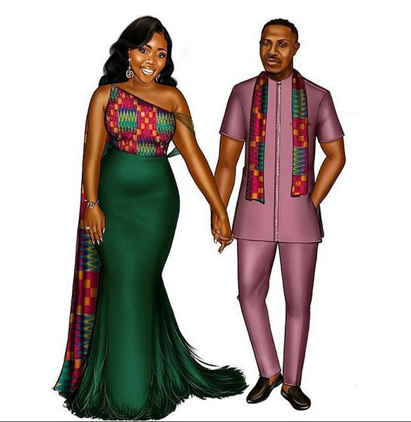 African Styles Gallery: KENTE COUPLE COLLECTION