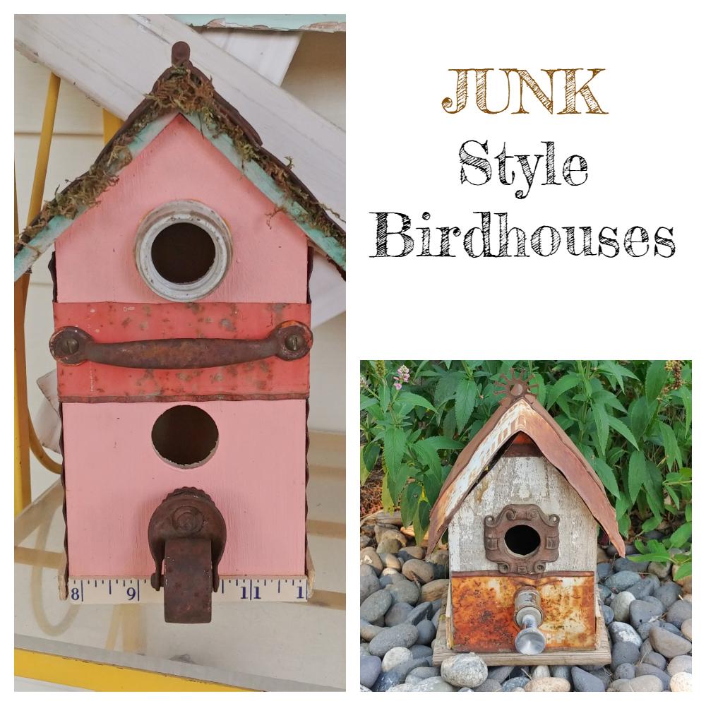 Make junk style birdhouses!