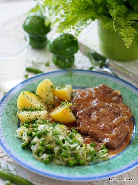 wołowina qmp , obiad , bitki wołowe , wołowina w sosie , kuchnia polska