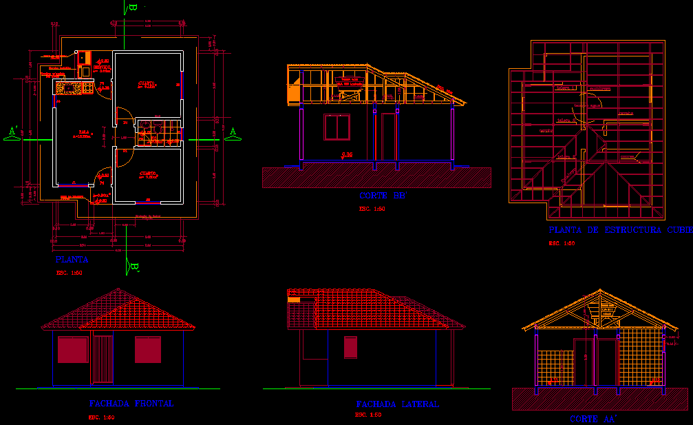 Small cottage house plans 42 meter square