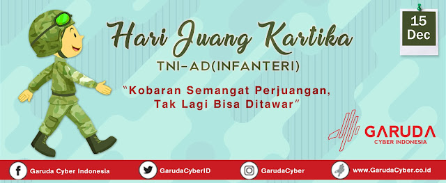 Download Free File PSD JPEG Desain Hari Juang Kartika TNI-AD (Infanteri)