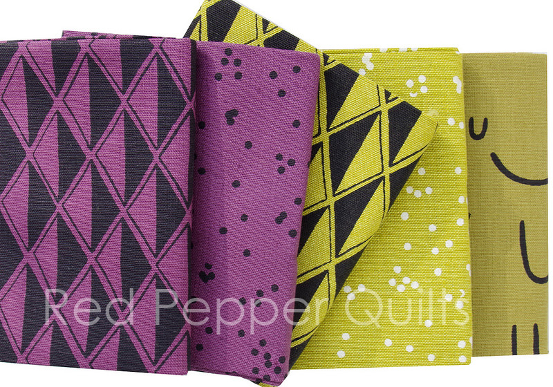 Arroyo - Multi by Erin Dollar for Robert Kaufman Fabrics | © Red Pepper Quilts 2017