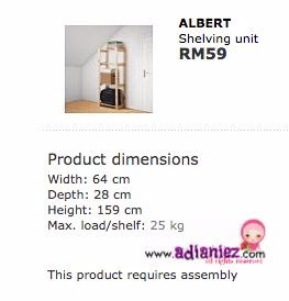 Deko Dapur | Ikea Albert Shelving Unit