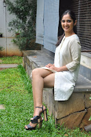 Radhika Cute Young New Actress in White Long Transparent Kurta ~  Exclusive Celebrities Galleries 046.JPG