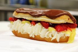 Valentine's Day, donut, cassatta