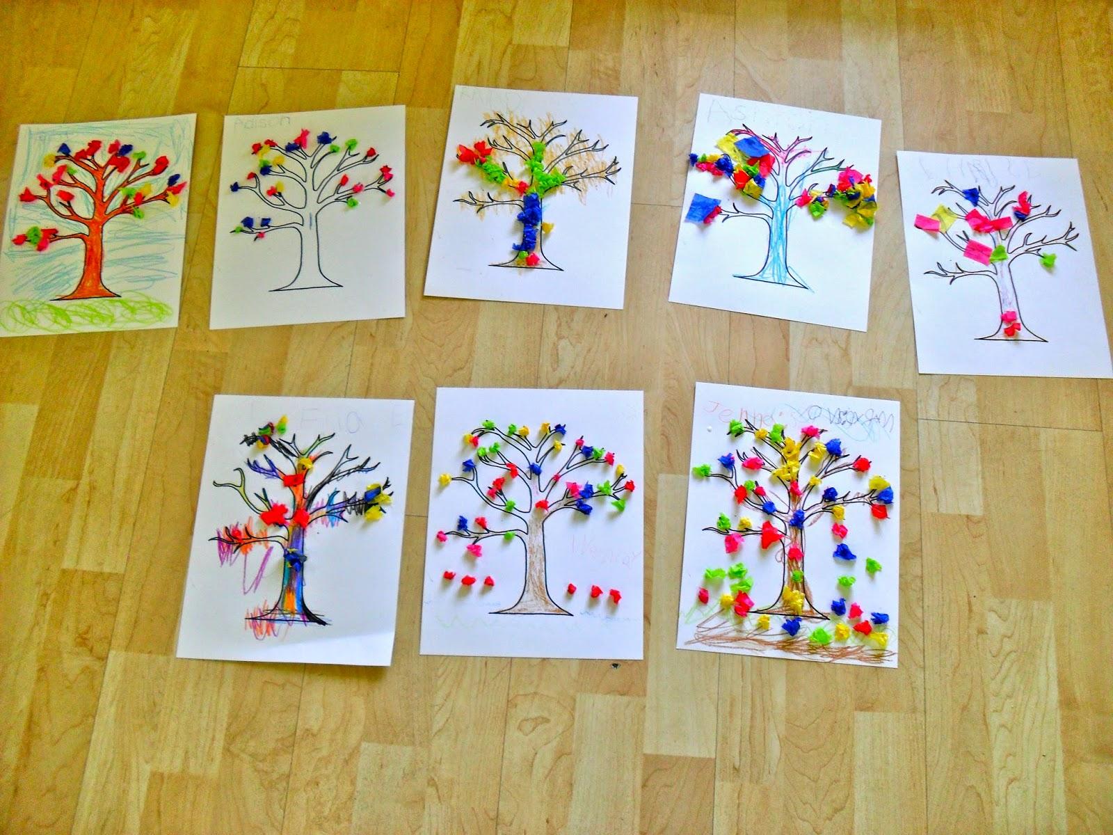 Creative Arts Preschool April Showers