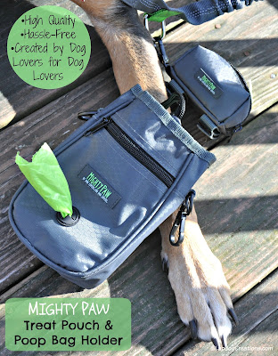 might paw dog treat pouch