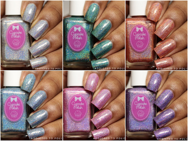 Cupcake Polish Seashell Collection