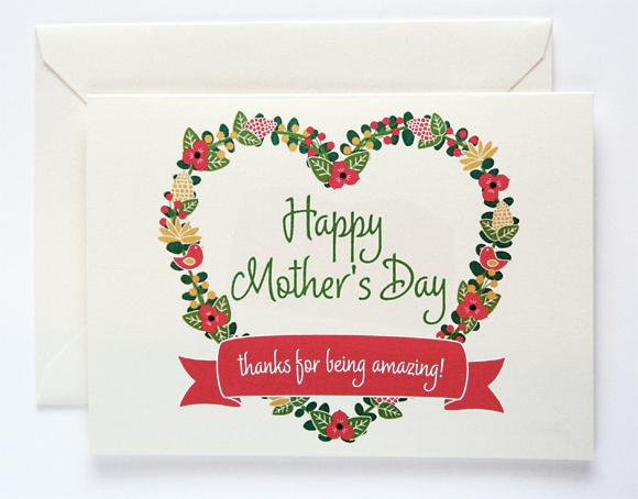 Миша днем, открытка маме на английском языке