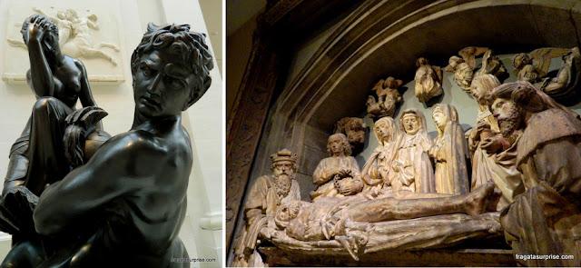 Esculturas do Museu Metropolitan de Nova York
