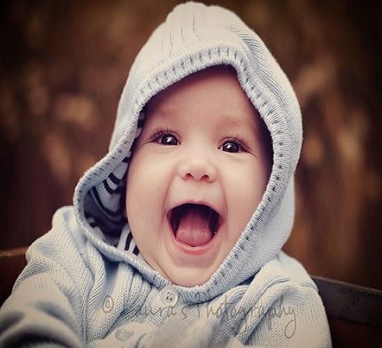 Jolie Photo bébé virtuel