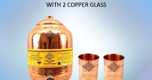 Copper Handmade Water Pot Dispenser