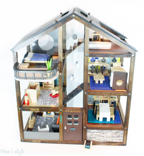 DIY Dollhouse Makeover