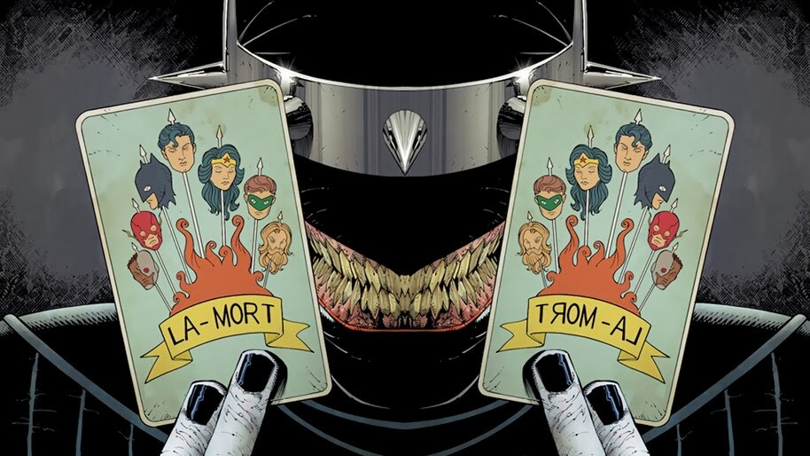 The Batman Who Laughs, Card, DC, Comics, 4K, #4.2888