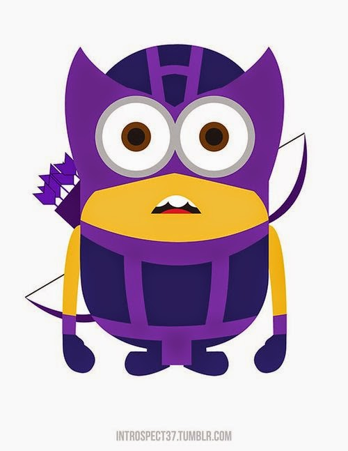 10-Hawkeye-Kevin-Magic-Lam-The-Minions-Despicable-Me-Superheroes-www-designstack-co
