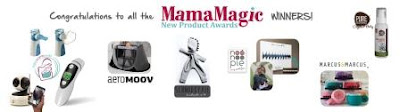 Banner of all the winners of MamaMagic New Products winners