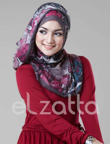 Tutorial Hijab Elzatta Terbaru Februari 2016