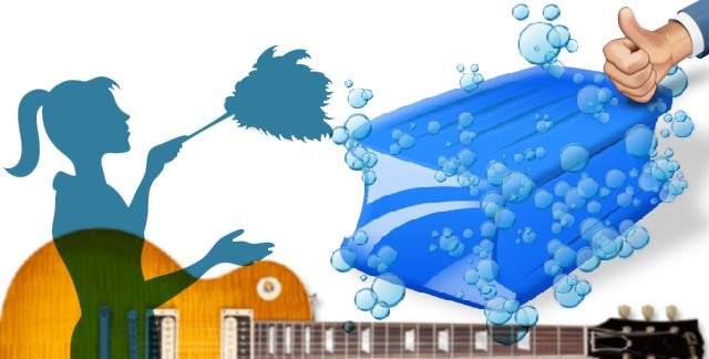 como-limpar-guitarra