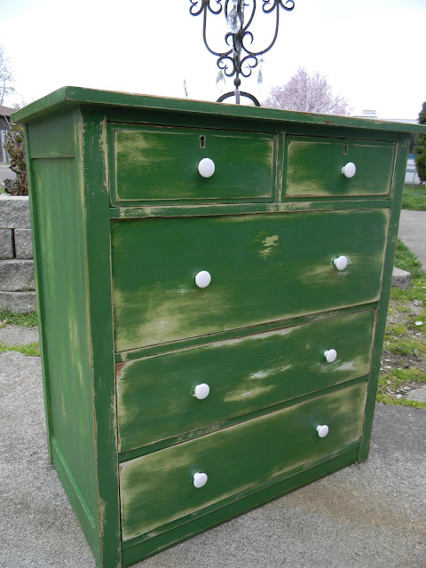 Emily S Up Cycled Furniture Tall Blue Grey Distressed Dresser: Emily's Up-cycled Furniture: It's Spring
