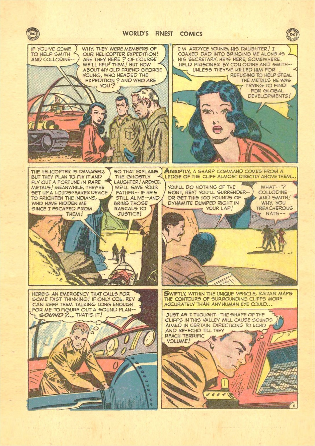 Read online World's Finest Comics comic -  Issue #50 - 34
