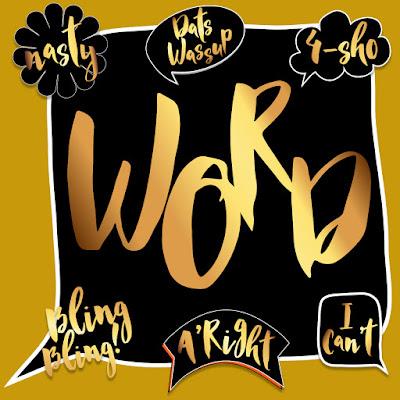 Hip Hop Urban Slang Stickers