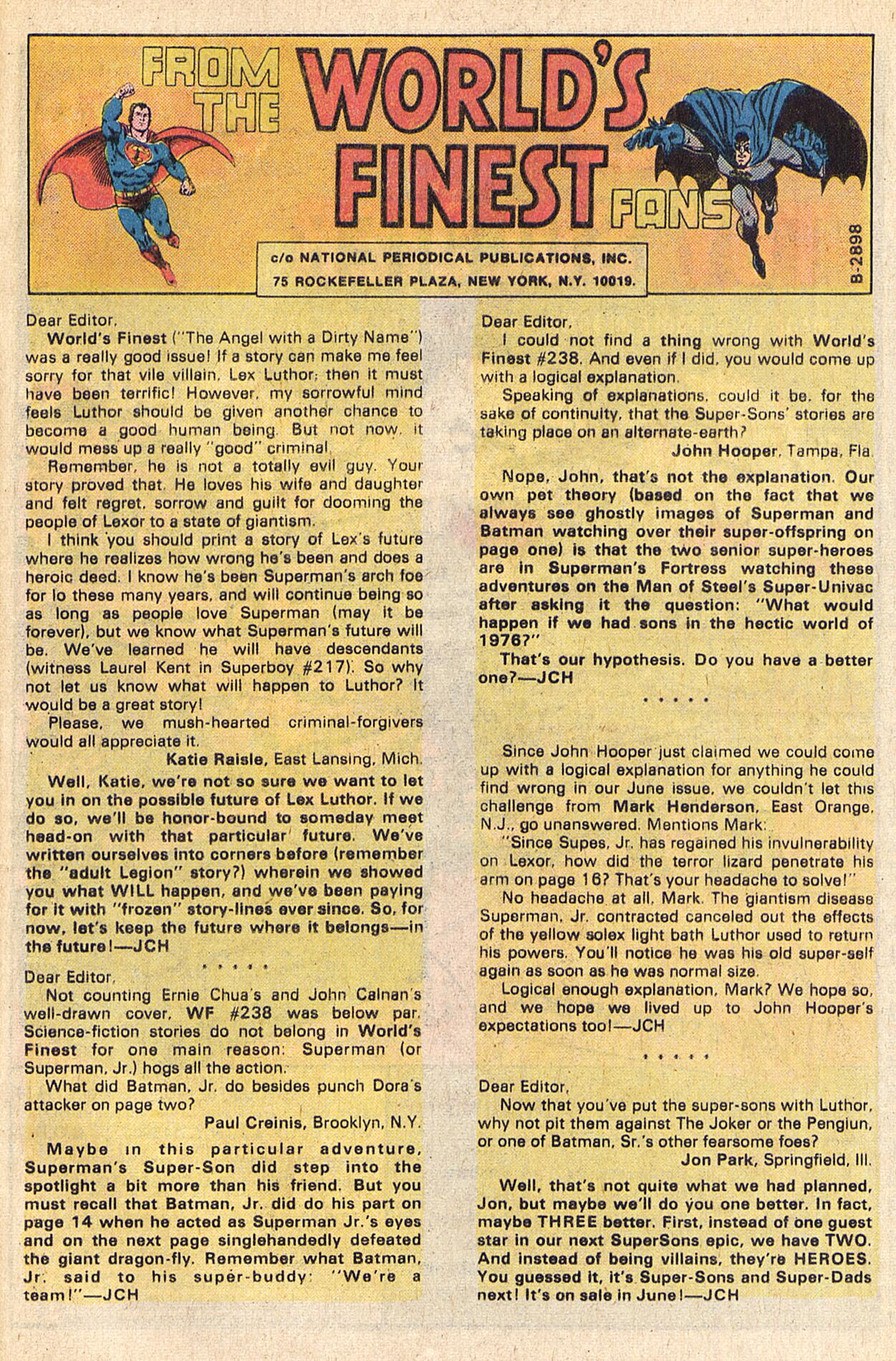 Read online World's Finest Comics comic -  Issue #241 - 25