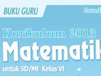 Buku Matematika Kelas 6 Kurikulum 2013 Tahun Pelajaran 2018 - 2019