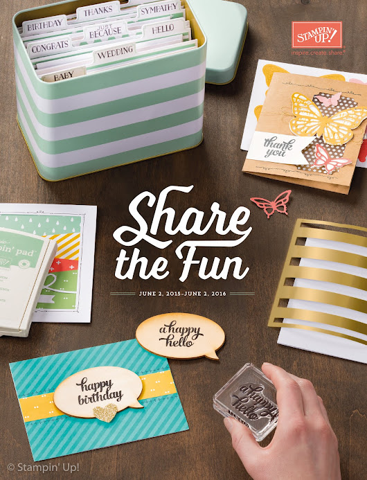 Stampin' Up Specials And Promotions