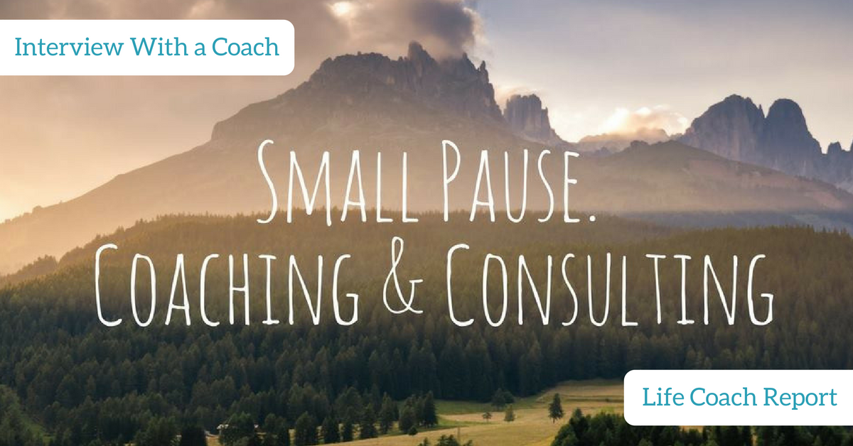 Life Coach Report | Interview With a Coach | Dave Lundberg | Small Pause Coaching